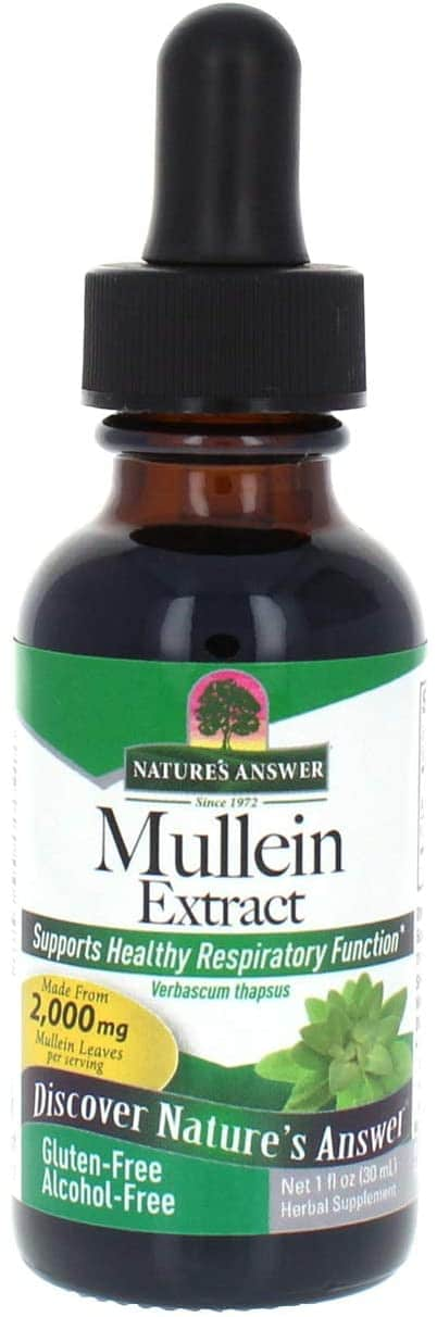 Nature's Answer - Mullein Extract