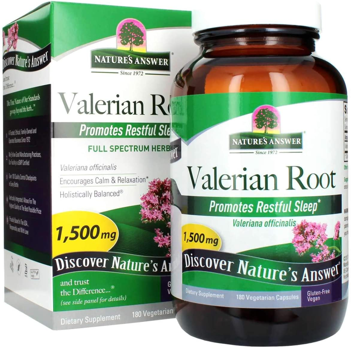 Nature's Answer - Valerian Root 1500mg